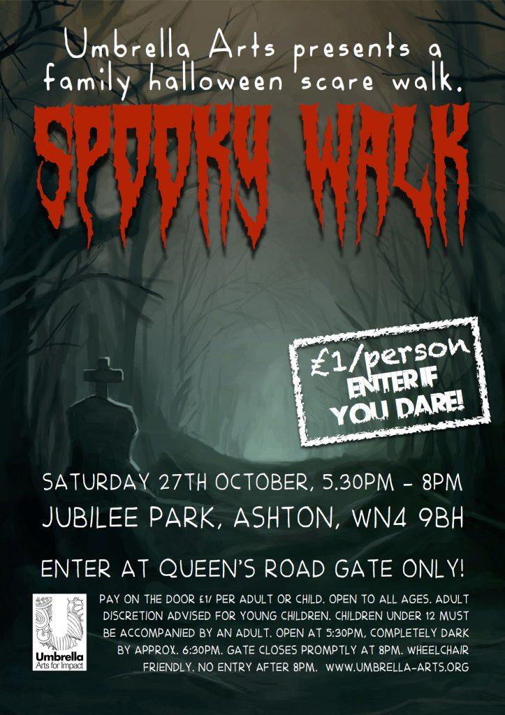 Spooky Walk poster 2018
