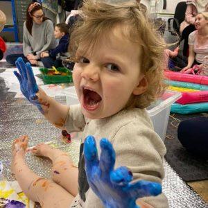 Baby Art Club | Fridays 10-11:30am